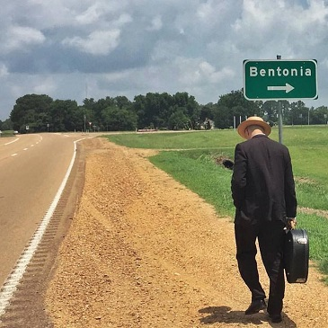"The Original Harlem Slim, Tito Deler, on his way to Bentonia. Tito Deler will be back for the 45th Annual Bentonia Blues Festival June 12 - 16, 2017, at the Blue Front Café and June 17, 2017, for a full day of music at Jimmy ""Duck"" Holmes' farm!"
