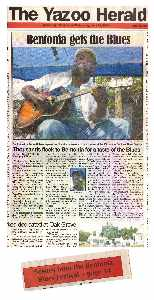 2008 Bentonia Blues Festival(tm) article